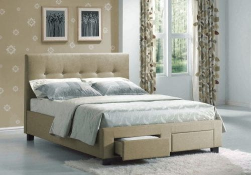 Sydney Upholstered Bed Frame | Mattress Warehouse USA | Portland, Oregon