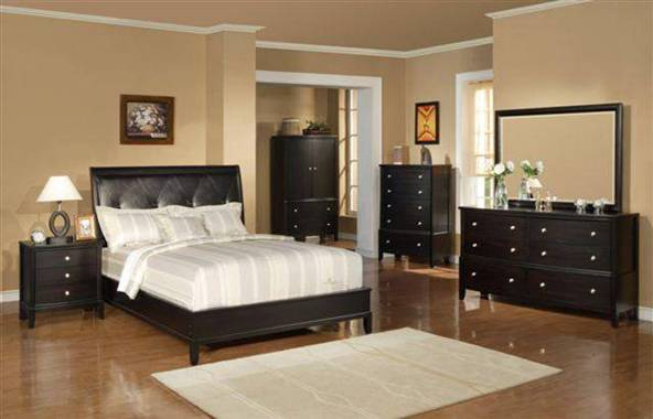 Bedroom Collection 8912 Furniture In Dark Espresso By Royola Pacific Mattress Warehouse Usa