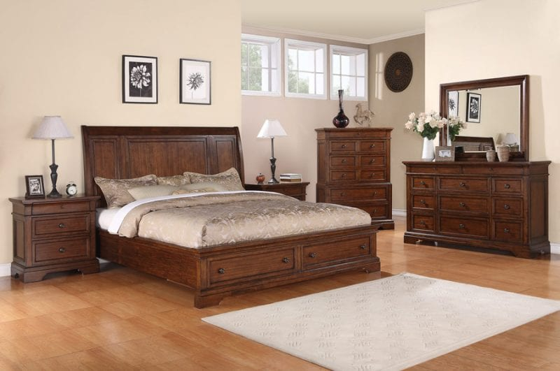 Liberty Wood Bed Frame